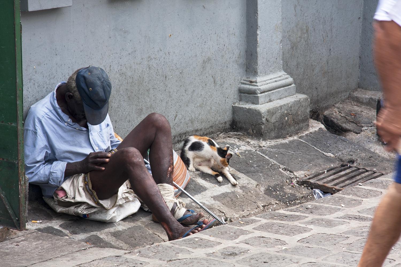 """Mauritius, Aus der Serie- """"Visuelle Grenzziehung - Bedenkliche Momentaufnahmen"""""""